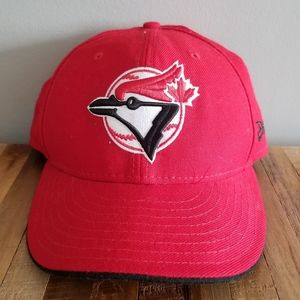 New Era 59Fifty red Toronto Blue Jay's hat 7 1/8